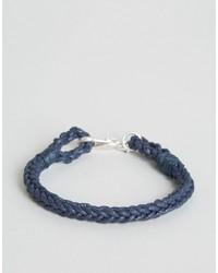 dunkelblaues Armband von Jack Wills