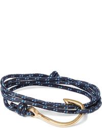 dunkelblaues Armband von Miansai