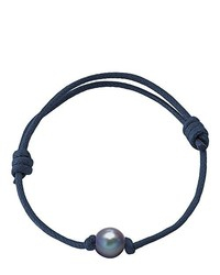 dunkelblaues Armband von Pearls & Colors
