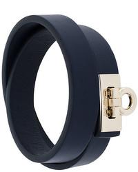 dunkelblaues Armband von Salvatore Ferragamo
