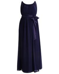 dunkelblaues Ballkleid von Dorothy Perkins