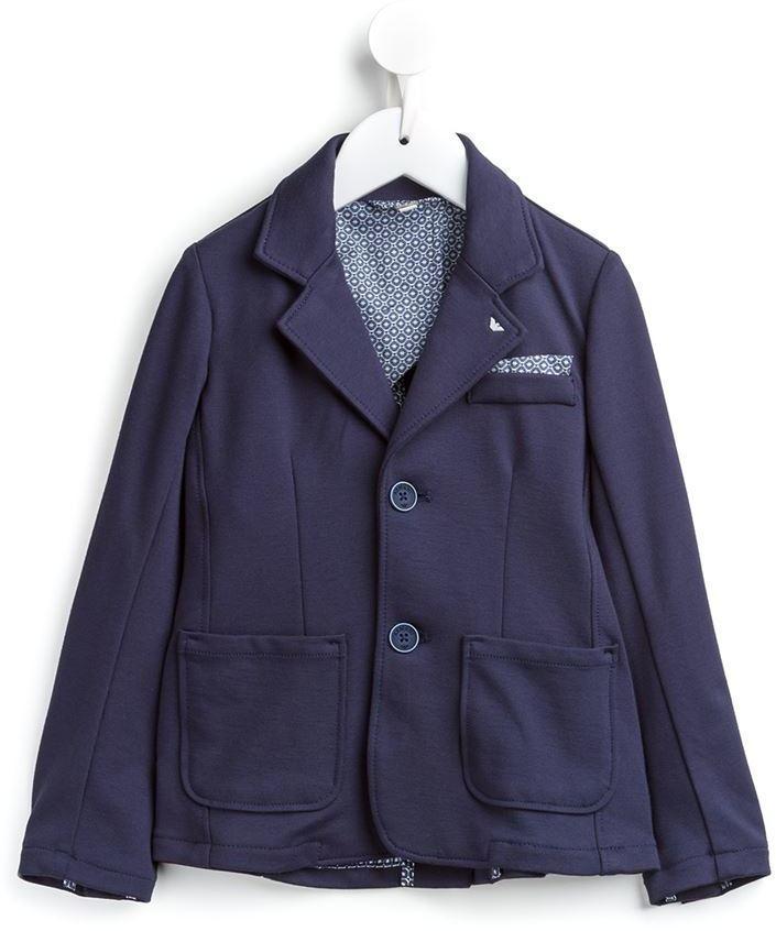 dunkelblaues Baumwollsakko von Armani Junior