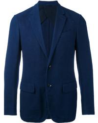 dunkelblaues Baumwollsakko von Ermenegildo Zegna