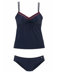 dunkelblaues Bikinioberteil von s.Oliver RED LABEL Beachwear