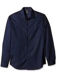 dunkelblaues Businesshemd von Calvin Klein