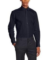 dunkelblaues Businesshemd von Karl Lagerfeld