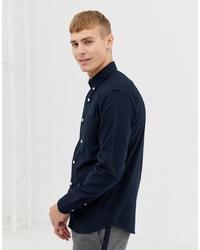 dunkelblaues Businesshemd von New Look