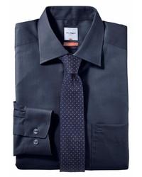 dunkelblaues Businesshemd von Olymp