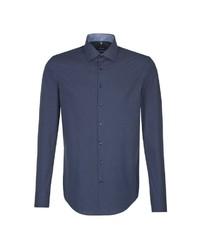 dunkelblaues Businesshemd von Seidensticker