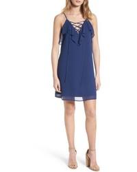 dunkelblaues Camisole-Kleid