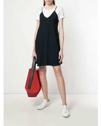 dunkelblaues Camisole-Kleid von Dondup