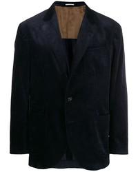 dunkelblaues Cordsakko von Brunello Cucinelli