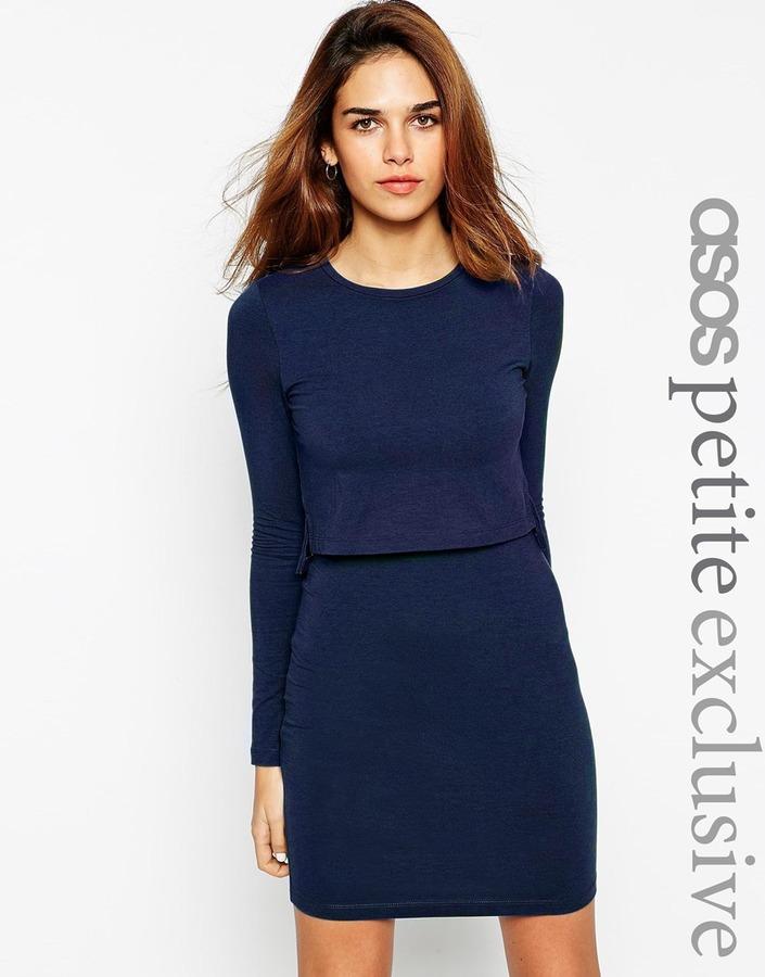 ca6373f3ca3d dunkelblaues figurbetontes Kleid von Asos   Wo zu kaufen und wie zu ...