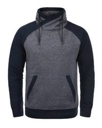 dunkelblaues Fleece-Sweatshirt von Jack & Jones