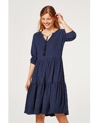 dunkelblaues Folklore Kleid von Esprit