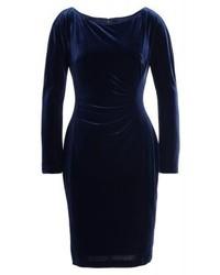 dunkelblaues Freizeitkleid von Ralph Lauren