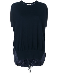 dunkelblaues gerade geschnittenes Kleid von DKNY