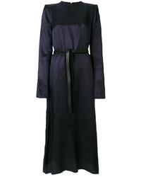 dunkelblaues gerade geschnittenes Kleid von Maison Margiela