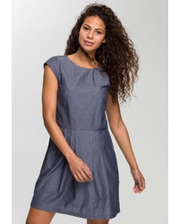 dunkelblaues gerade geschnittenes Kleid von Opus