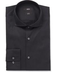 dunkelblaues Hemd von Hugo Boss