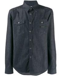 dunkelblaues Jeanshemd von Givenchy