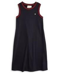 Dunkelblaues Kleid von Gucci