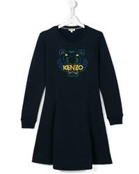 dunkelblaues Kleid von Kenzo