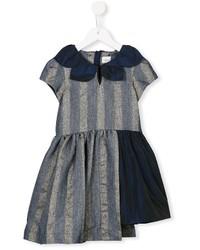 dunkelblaues Kleid von No Added Sugar