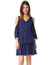 dunkelblaues Kleid von Rebecca Minkoff