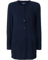 dunkelblaues Kleid von Salvatore Ferragamo
