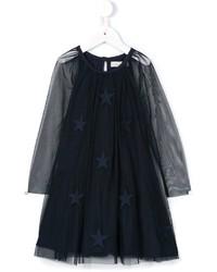 dunkelblaues Kleid von Stella McCartney