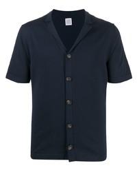 dunkelblaues Kurzarmhemd von Eleventy