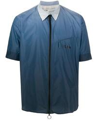 dunkelblaues Kurzarmhemd von Off-White