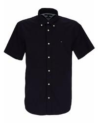 dunkelblaues Kurzarmhemd von Tommy Hilfiger
