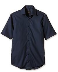 dunkelblaues Kurzarmhemd von Venti