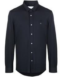 dunkelblaues Langarmhemd von Calvin Klein