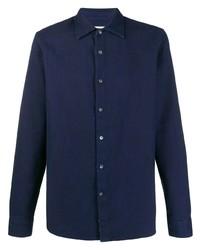 dunkelblaues Langarmhemd von Closed