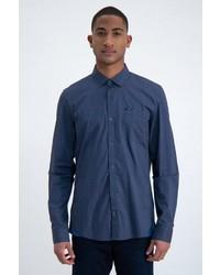 dunkelblaues Langarmhemd von GARCIA
