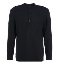 dunkelblaues Langarmhemd von KIOMI