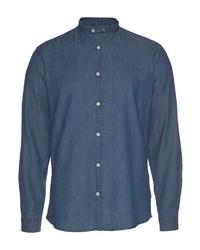 dunkelblaues Langarmhemd von Lindbergh