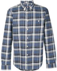 dunkelblaues Langarmhemd von Paul Smith