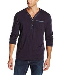 dunkelblaues Langarmshirt von Tom Tailor