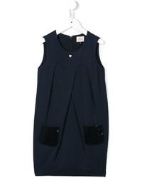 dunkelblaues Paillettenkleid von Armani Junior