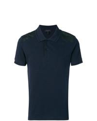 dunkelblaues Polohemd von Belstaff