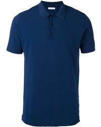 dunkelblaues Polohemd von Boglioli