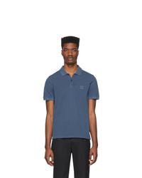 dunkelblaues Polohemd von BOSS