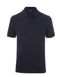dunkelblaues Polohemd von Brax