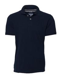 dunkelblaues Polohemd von CODE-ZERO
