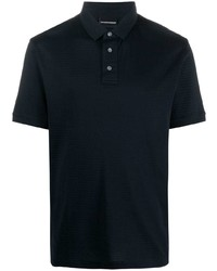 dunkelblaues Polohemd von Emporio Armani