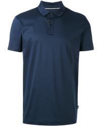 dunkelblaues Polohemd von Hugo Boss